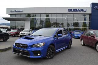 Used 2018 Subaru WRX Sport-tech - 19,000 Kms for sale in Port Coquitlam, BC