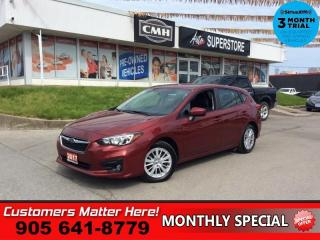Used 2017 Subaru Impreza 5dr HB CVT Touring  AWD CAM HTD-SEATS BT for sale in St. Catharines, ON