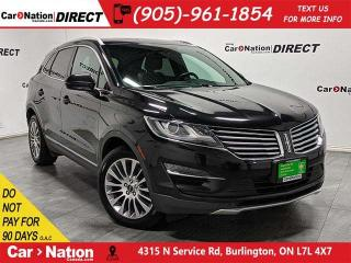 Used 2015 Lincoln MKC | AWD| LOCAL TRADE| PANO ROOF| NAVI| for sale in Burlington, ON