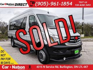 Used 2015 Mercedes-Benz Sprinter 3500 4WD High Roof  LIMO BUS  for sale in Burlington, ON