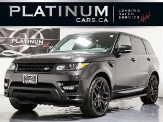 Used 2015 Land Rover Range Rover Sport AUTOBIOGRAPHY, SUPERCHARGED, NAVI, PANO, CAM for sale in Toronto, ON
