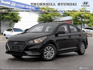 New 2019 Hyundai Accent Essential w/ Comfort  -  USB Port for sale in Thornhill, ON