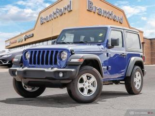 New 2019 Jeep Wrangler Sport S  - Uconnect - $270 B/W for sale in Brantford, ON