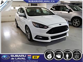 Used 2016 Ford Focus ST Hatch** Cuir Toit Navigation ** for sale in Laval, QC