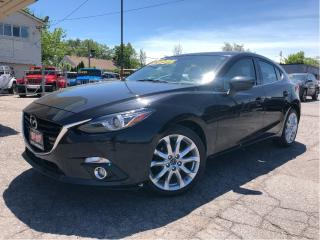 Used 2015 Mazda MAZDA3 Sport GT | 6Spd| Leather | Nav| Sunroof | Loaded| for sale in St Catharines, ON