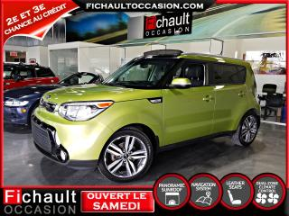 Used 2016 Kia Soul SX Luxe **** GPS *** CUIR*** TOIT PANORA for sale in Châteauguay, QC