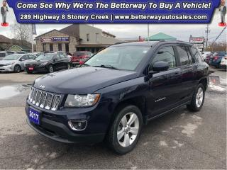 Used 2017 Jeep Compass High Altitude Edition| Leather| 4X4| Sunroof for sale in Stoney Creek, ON