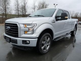 Used 2016 Ford F-150 SPORT CREW  V8 5.0L, 4X4, BTE 6.5'PIEDS for sale in Vallée-Jonction, QC