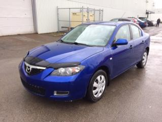 Used 2009 Mazda MAZDA3 Berline 4 portes, boîte manuelle, GX for sale in Quebec, QC