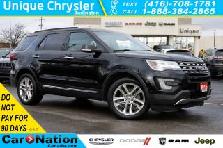 Used 2016 Ford Explorer LIMITED| ACTIVE PARK ASSIST| DUAL PANEL MOONROOF for sale in Burlington, ON