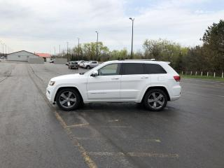 Used 2014 Jeep Grand Cherokee OVERLAND 4X4 for sale in Cayuga, ON