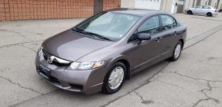 Used 2010 Honda Civic Sdn DX-G for sale in Burlington, ON