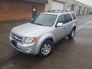 Used 2008 Ford Escape Limited for sale in Burlington, ON