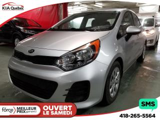Used 2016 Kia Rio LX+ A/C for sale in Québec, QC