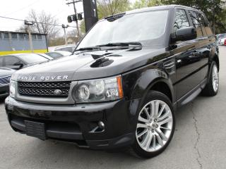 Used 2011 Land Rover Range Rover Sport HSE LUXURY ~ 75,000KMS ONLY ~ LOW KMS ~ NAVI !! for sale in Burlington, ON
