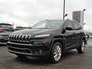 Used 2015 Jeep Cherokee LIMITED 4X4 *CUIR*TOIT*GPS*TECH PACK* for sale in Brossard, QC
