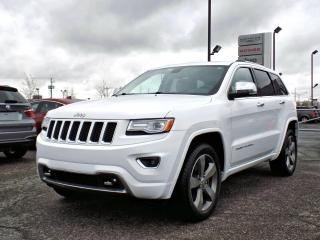 Used 2015 Jeep Grand Cherokee OVERLAND *V8*CUIR*TOIT*GPS* for sale in Brossard, QC