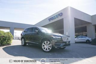 Used 2018 Volvo XC90 T6 AWD Inscription CERTIFIED PRE-OWNED | EXECUTIVE DEMO | VISION | CLIMATE | CONV for sale in Vancouver, BC