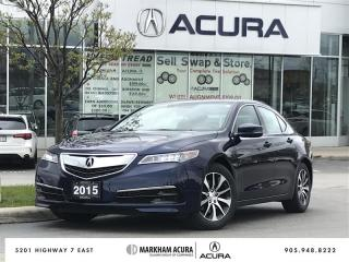 Used 2015 Acura TLX 2.4L P-AWS w/Tech Pkg Navi, Blind Spot Ind, Heated Steering Wheel for sale in Markham, ON