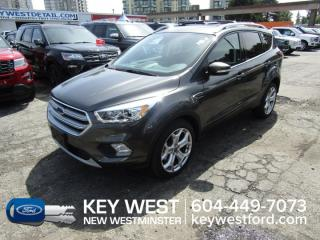 Used 2017 Ford Escape Titanium 4WD Sunroof Leather Nav Cam Sync 3 for sale in New Westminster, BC