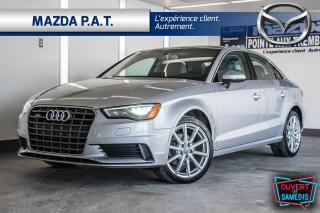 Used 2015 Audi A3 AWD,AUTOMATIQUE,TOIT OUVRANT,CUIR,BLUETOOTH for sale in Montréal, QC