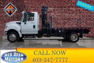 Used 2014 International TerraStar 4X4 S/A Picker Truck for sale in Red Deer, AB