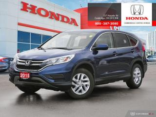 Used 2015 Honda CR-V ECON MODE | BLUETOOTH | HEATED SEATS for sale in Cambridge, ON
