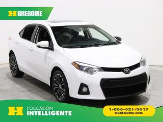 Used 2014 Toyota Corolla S A/C CUIR TOIT MAGS for sale in St-Léonard, QC