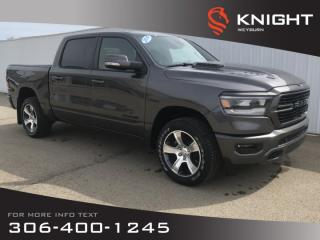 New 2019 RAM 1500 Sport | Backup Camera | Heated Seats/Steering Wheel | Bluetooth for sale in Weyburn, SK