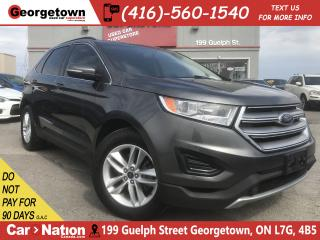 Used 2015 Ford Edge SEL | NAVI | BU CAM | B-TOOTH | HTD SEATS for sale in Georgetown, ON