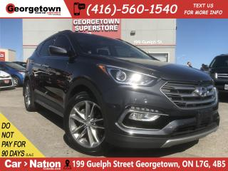 Used 2017 Hyundai Santa Fe Sport 2.0T LIMITED NAVI| PANO ROOF| AWD| FULLY LOADED for sale in Georgetown, ON