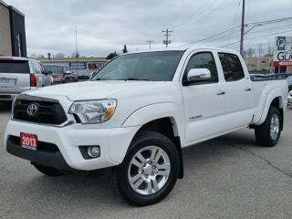 Used 2013 Toyota Tacoma Limited 4x4 LOADED w/all leather,NAV,heated seats & rear cam for sale in Cambridge, ON