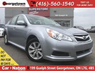 Used 2012 Subaru Legacy 2.5i Convenience Pkg | AWD|HTD SEAT|B-TOOTH|ALLOYS for sale in Georgetown, ON
