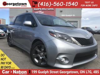 Used 2015 Toyota Sienna SE 8 Pass | LEATHER | ROOF | NAV|BU CAM|PWR DOORS for sale in Georgetown, ON