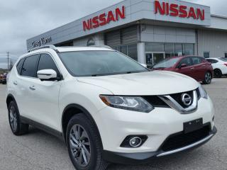 Used 2016 Nissan Rogue SL AWD w/all leather,NAV,panoramic roof,heated seats,rear cam,sxm radio for sale in Cambridge, ON