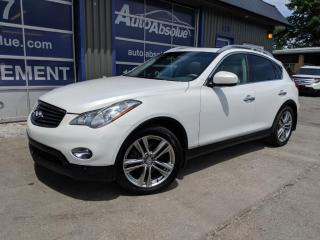 Used 2012 Infiniti EX35 Navi + Caméra 360 for sale in Boisbriand, QC