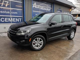 Used 2014 Volkswagen Tiguan Trendline + 4 motion + bancs chauffants + bluetooth for sale in Boisbriand, QC