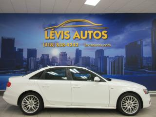 Used 2015 Audi A4 S-LINE PACKAGE QUATTRO TOIT OUVRANT CUIR for sale in Lévis, QC
