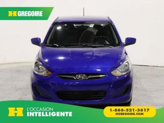 Used 2013 Hyundai Accent GL A/C GR ELECT for sale in St-Léonard, QC