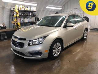 Used 2016 Chevrolet Cruze 1LT * Chevy mylink touch screen * Reverse camera * Remote start * Winters/Steels * On star * Hands free steering wheel controls * Phone connect * Voic for sale in Cambridge, ON