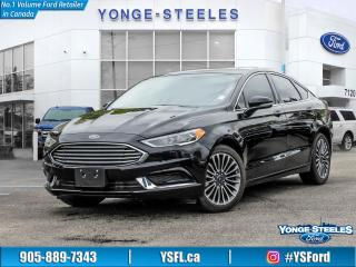 Used 2018 Ford Fusion SE for sale in Thornhill, ON