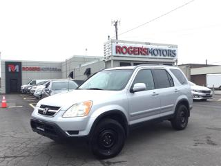 Used 2002 Honda CR-V EX 4WD - LEATHER - SUNROOF for sale in Oakville, ON