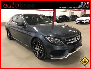 Used 2016 Mercedes-Benz C-Class C300 4MATIC PREMIUM PLUS SPORT ACTIVE LED 19'S for sale in Vaughan, ON