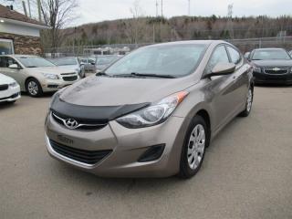 Used 2012 Hyundai Elantra GL for sale in Québec, QC