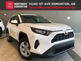 New 2019 Toyota RAV4 AWD LE for sale in Edmonton, AB
