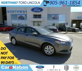 Used 2014 Ford Fusion S | KEYLESS ENTRY | BLUETOOTH | CRUISE | for sale in Brantford, ON