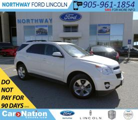 Used 2014 Chevrolet Equinox 2LT | AWD | LEATHER| SUNROOF | PWR LIFTGATE | for sale in Brantford, ON