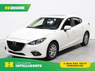 Used 2014 Mazda MAZDA3 GS-SKY A/C TOIT for sale in St-Léonard, QC