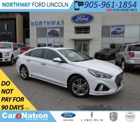 Used 2019 Hyundai Sonata Essential | SPORT PKG | PWR HTD SEATS | SUN ROOF | for sale in Brantford, ON