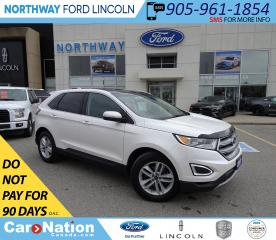Used 2017 Ford Edge SEL | NAV | PWR HTD LEATHER | PANO ROOF | for sale in Brantford, ON